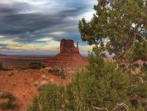 De lijn van de Staat van Arizona/van Utah royalty-vrije stock foto's