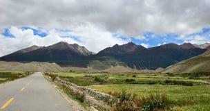 De lijn van Tibet van Yunnan Royalty-vrije Stock Foto's