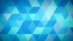 De Lijn 01 Winter van de driehoeksveelhoek stock video