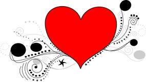 De lijnart. van het hart Royalty-vrije Stock Afbeeldingen