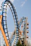 De Lijnen van de achtbaan Royalty-vrije Stock Foto