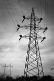 De lijnen van de macht Royalty-vrije Stock Foto's