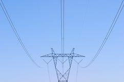 De Lijnen van de Macht van Mojave Stock Afbeeldingen