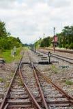 De Lijnen van de spoorweg Stock Afbeelding
