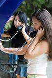 De lijnen van de telefoon. Royalty-vrije Stock Foto