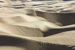 De Lijnen van de woestijn Royalty-vrije Stock Foto's