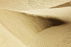 De Lijnen van de woestijn Royalty-vrije Stock Foto