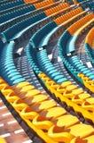 De lijnen van de zetel bij modern stadion Stock Afbeelding