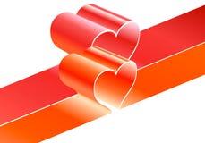 De lijnen van het hart Stock Illustratie