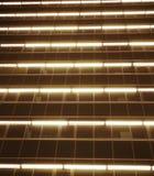 De lijnen van het stadsneonlicht stock fotografie
