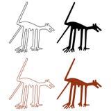 De lijnen van Nazca royalty-vrije illustratie