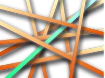 De lijnenachtergrond van de pastelkleur Stock Foto's