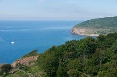 De lijnmening van de kust Royalty-vrije Stock Afbeeldingen