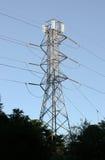 De lijntoren van de macht Stock Afbeeldingen