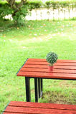 De lijst en de stoelen voor ontspannen Royalty-vrije Stock Foto's