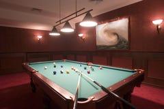 De Lijst/het Biljart van de pool royalty-vrije stock foto