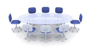 De Lijst van de bestuurskamer stock illustratie