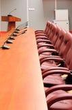 De lijst van de conferentie Royalty-vrije Stock Afbeelding