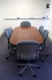 De lijst van de conferentie in bureau. Royalty-vrije Stock Foto's
