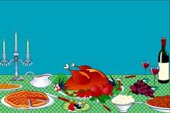 De lijst van de dankzegging vector illustratie