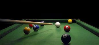 De lijst van de pool Stock Foto
