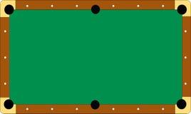 De lijst van de pool zonder ballen stock illustratie
