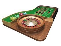 De lijst van de roulette vector illustratie