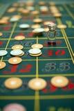 De lijst van de roulette Stock Foto's