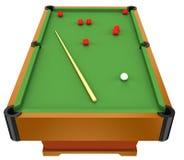 De lijst van de snooker Stock Afbeelding