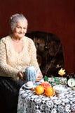 De lijst van de thee Royalty-vrije Stock Foto