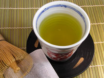 De lijst van de thee royalty-vrije stock afbeelding
