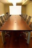 De lijst van de vergadering Stock Foto