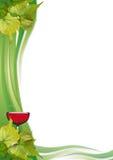 De lijst van de wijn Royalty-vrije Stock Afbeelding