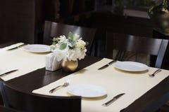 De lijst van Dinning Stock Foto's