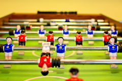 De lijst van Foosball Stock Foto