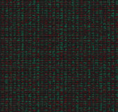 De lijst van gegevens die met aantallen wordt gevuld Royalty-vrije Stock Afbeelding