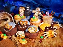 De lijst van Halloween met truc of behandelt royalty-vrije stock afbeelding