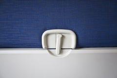De Lijst van het Dienblad van het vliegtuig Stock Foto