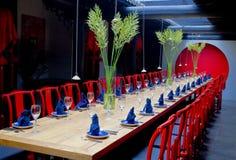 De lijst van het diner Royalty-vrije Stock Fotografie