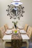 De lijst van het diner het plaatsen Royalty-vrije Stock Afbeelding
