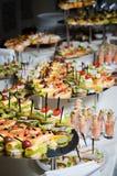 De lijst van het dinerbanket Stock Fotografie