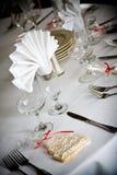 De lijst van het huwelijk het plaatsen Royalty-vrije Stock Afbeeldingen