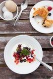 De lijst van het ontbijt Royalty-vrije Stock Afbeeldingen