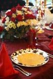 De lijst van het restaurant Royalty-vrije Stock Fotografie