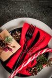 De lijst van Kerstmis het plaatsen Royalty-vrije Stock Afbeeldingen