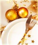 De lijst van Kerstmis van de luxe het plaatsen Stock Foto