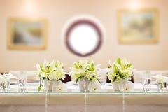 De lijstdecoratie van het huwelijk Royalty-vrije Stock Afbeeldingen
