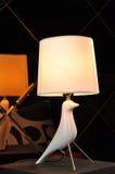 De lijstlicht van de bureaulamp stock foto's