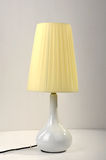 De lijstlicht van de bureaulamp stock afbeeldingen