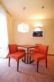 De lijstnad van het hotel stoelen Royalty-vrije Stock Afbeelding
